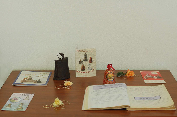 Выставка колокольчиков в Бронницах