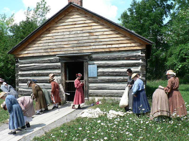 Верхняя Канадская деревня