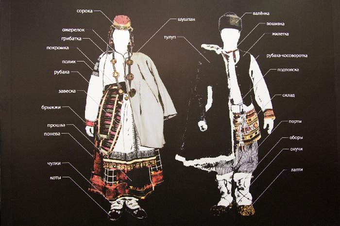 Воронежский народный костюм в колокольчиках
