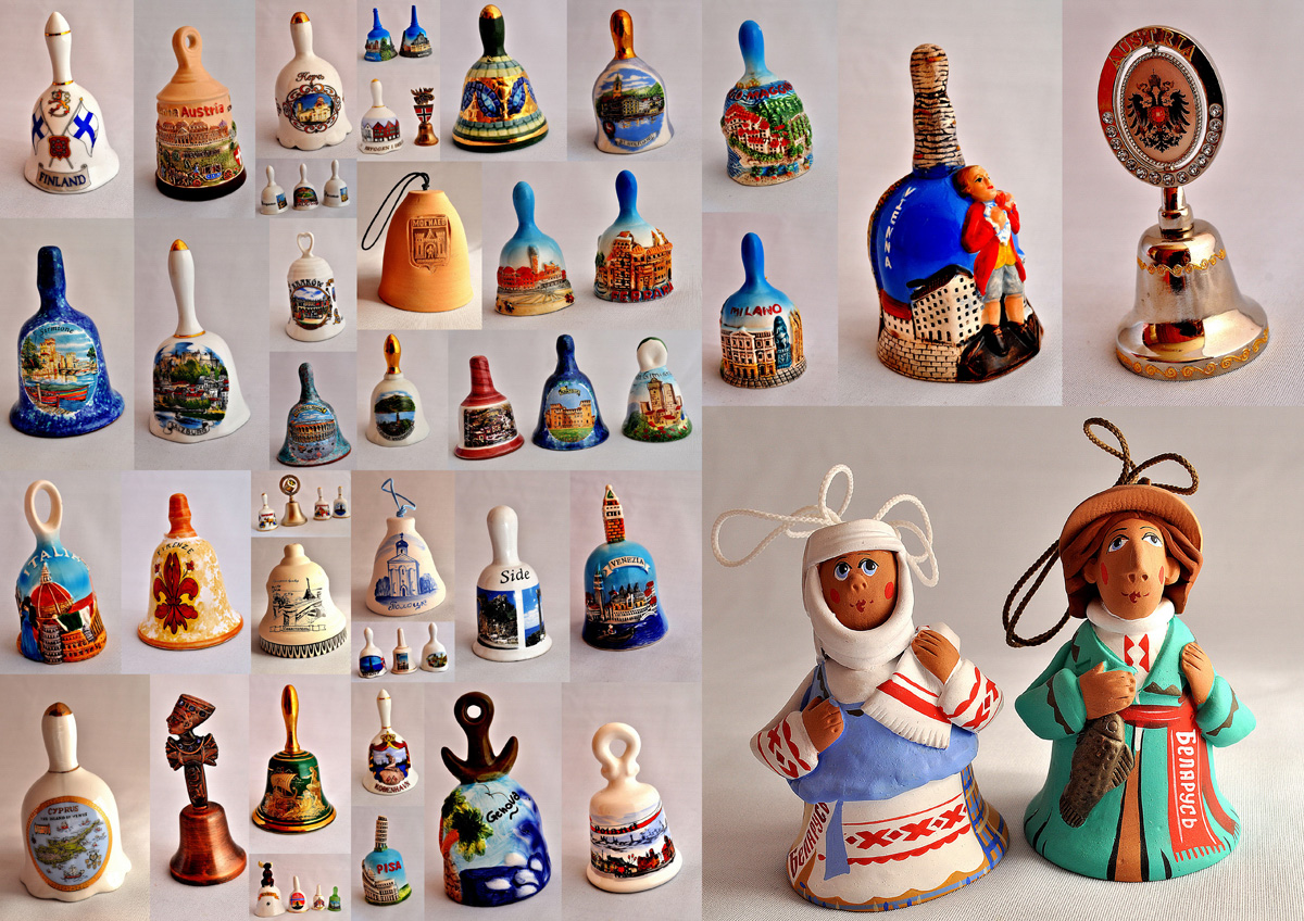 Коллекция колокольчиков Елены Пугачевой