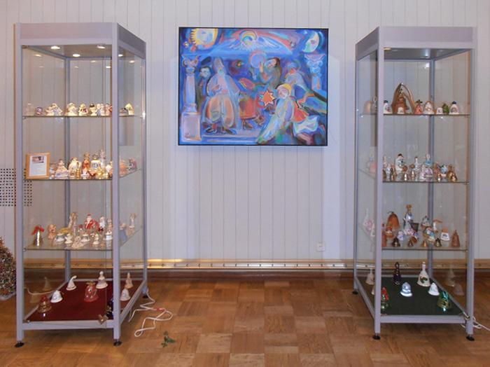 На выставке колокольчиков