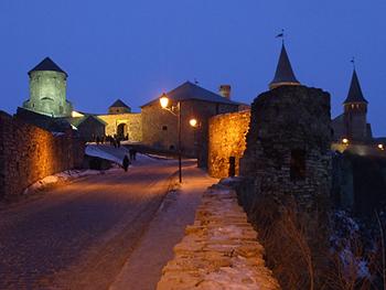 Крепость в Каменце Подольском