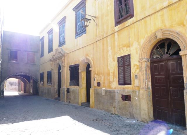 Улица в крепости