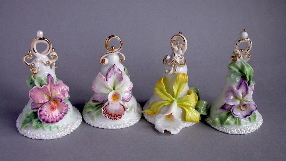 Колокольчики, орхидеи