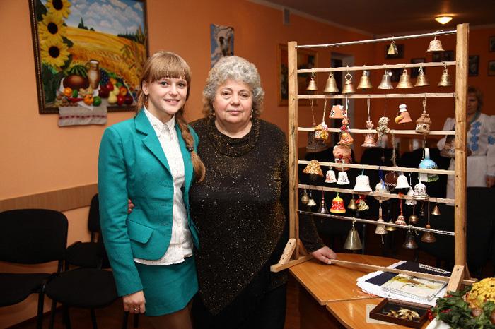 Выставка колокольчиков в Сарнах