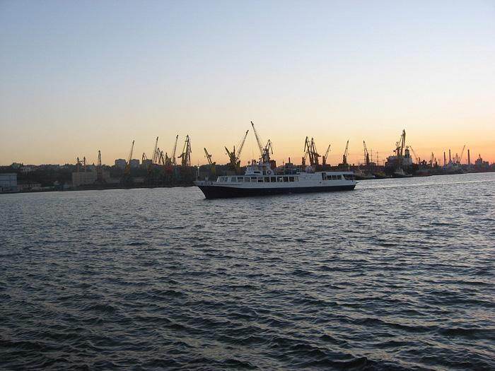 Черное море у Одессы