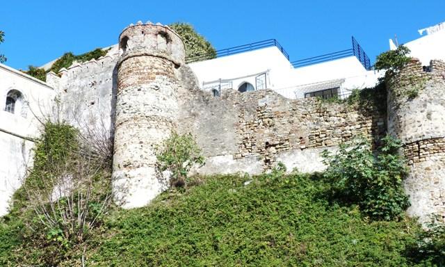 Стены Касбы