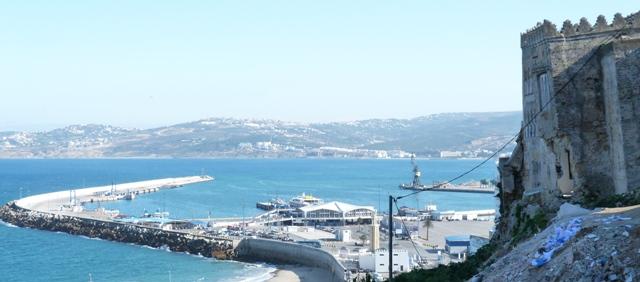 Вид на Гибралтар