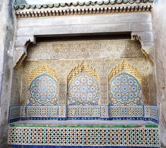 Мозаичный фонтан