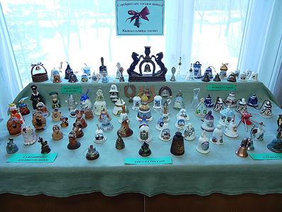 Выставка колокольчиков Серебристым легким звоном колокольчики звенят…