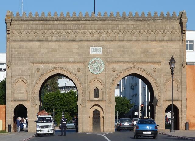 Ворота в королевскую резиденцию