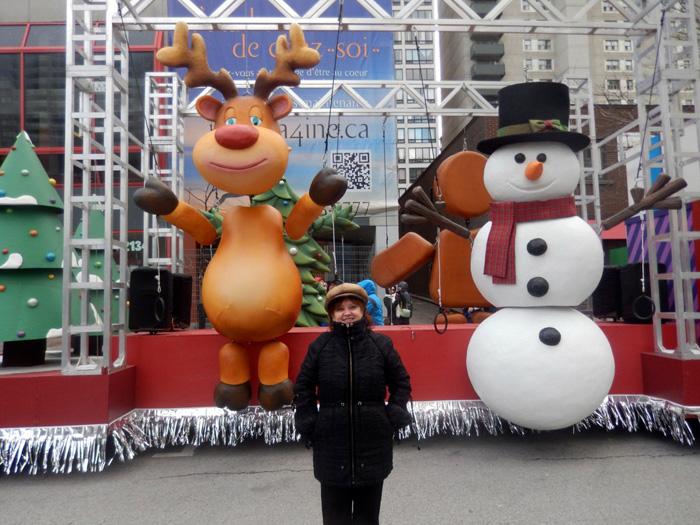 Санта-Клаус в Монреале