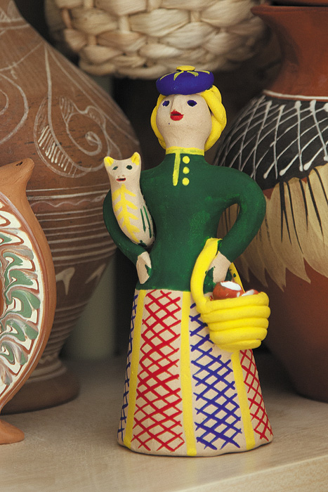 Колокольчик в традициях кожлянской глиняной игрушки
