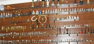 Коллекция колокольчиков