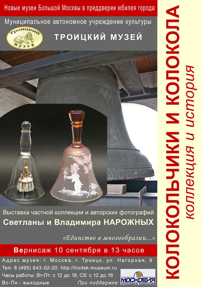 Колокольчики и колокола. Коллекция и история