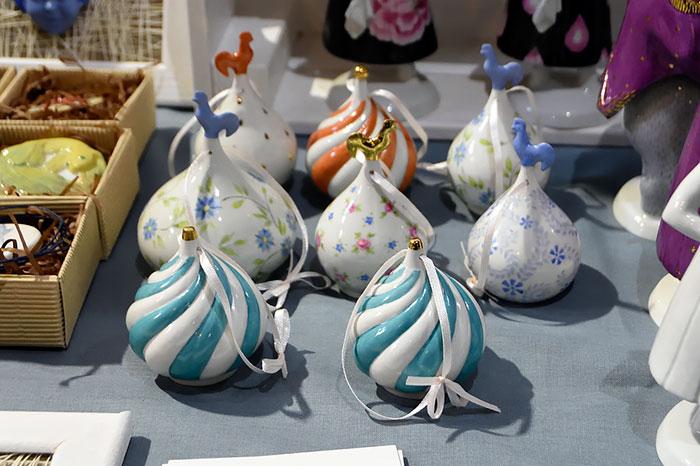 Колокольчики на фестивале-маркете керамики 4ceramics