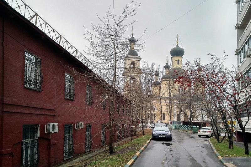 Троицкая церковь на Самокатной