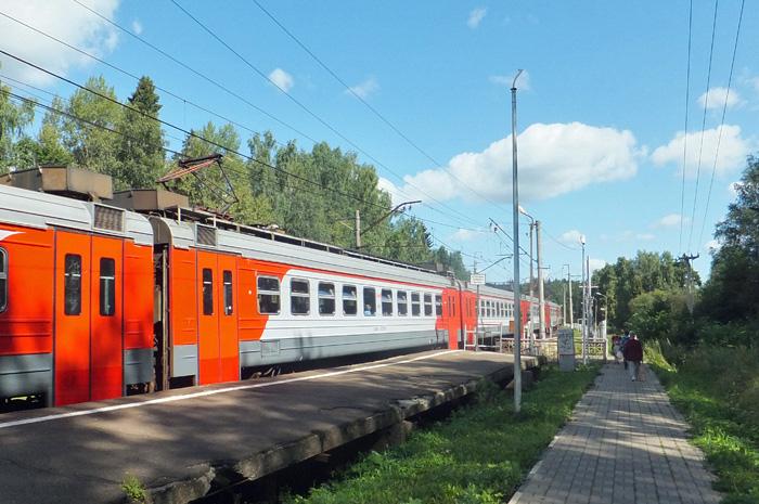 Платформа Абрамцево