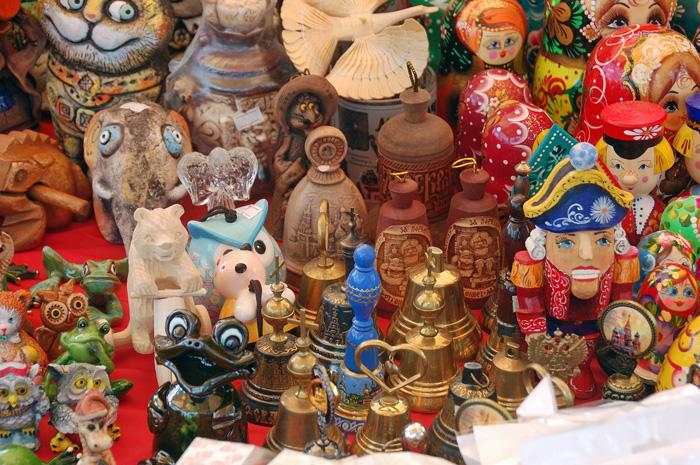 Колокольчики на ярмарке фестиваля Злато селище