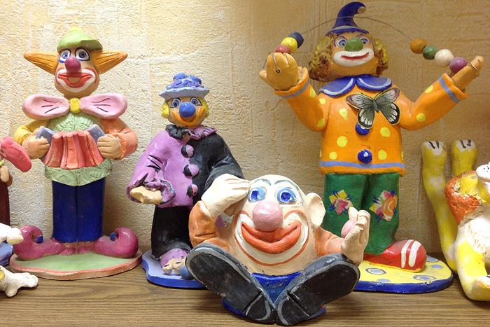 Клоуны в мастерской