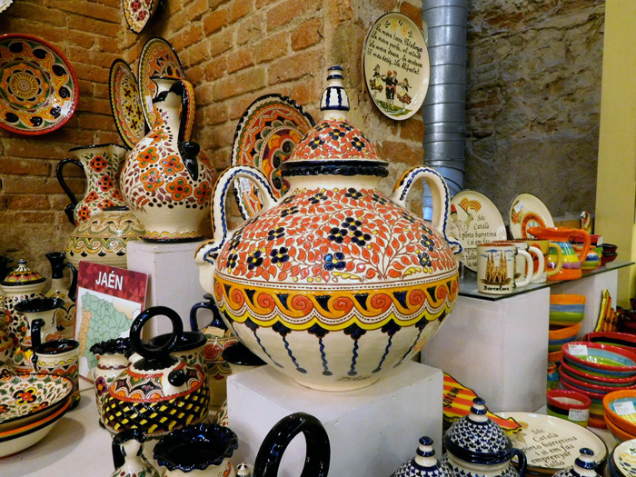Барселона, керамика