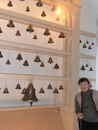 В музее колоколов