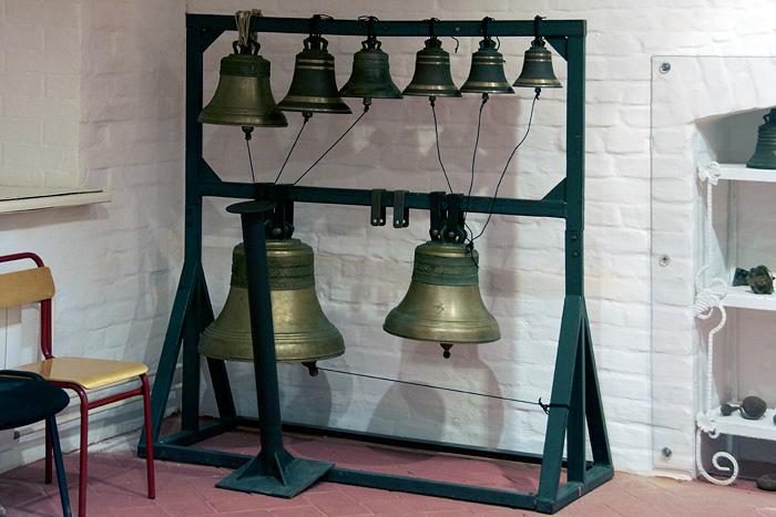 В Музее колоколов в Свиблово