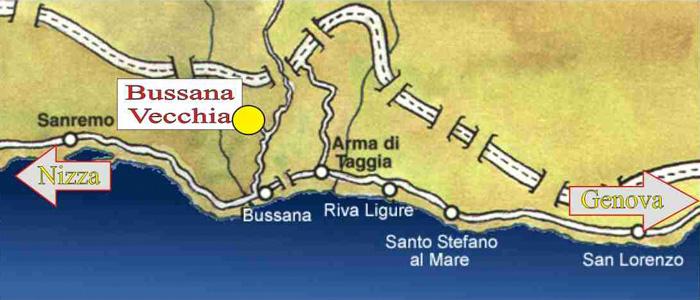 Старая Буссана (Bussana Vecchia)