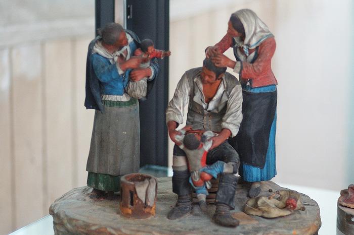 Керамическая скульптура Кальтаджироне