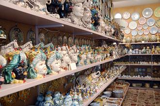 Керамика Кальтаджироне в Таормине