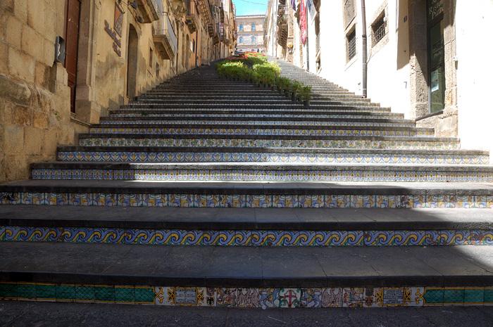 Лестница Санта Мариа дель Монте