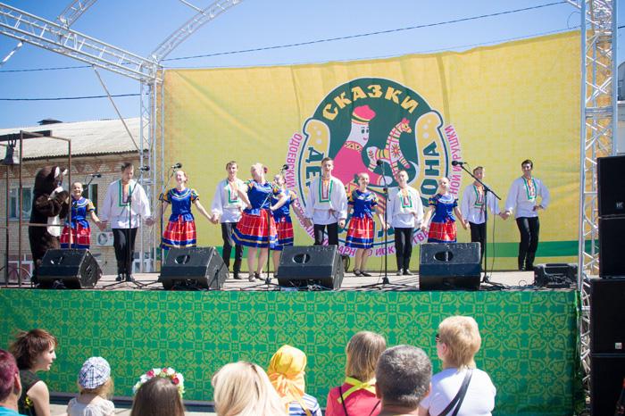 На фестивале Сказки деда Филимона, Одоев