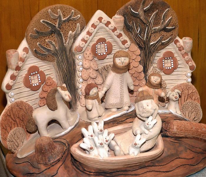 Дивеевская игрушка. Райский сад