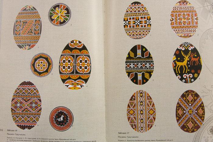 Традиционные орнаменты писанок Гуцульщины