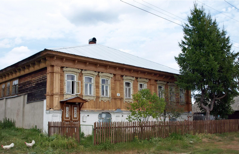 Дом Е.С. Клюйкова в д. Остапово