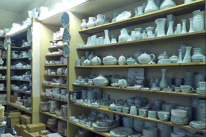 Гмунденская керамика в Вене