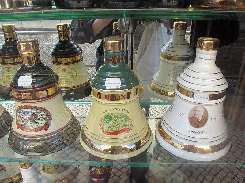 Бутылки-колокольчики
