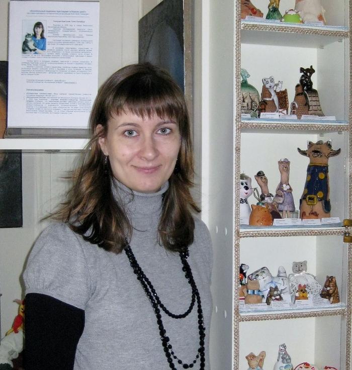 Выставка колокольчиков в Музее Кошки
