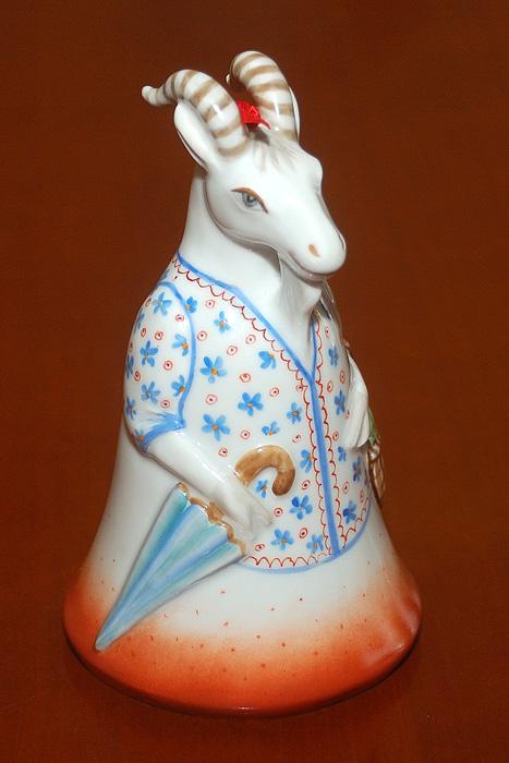 Колокольчик Коза с базара