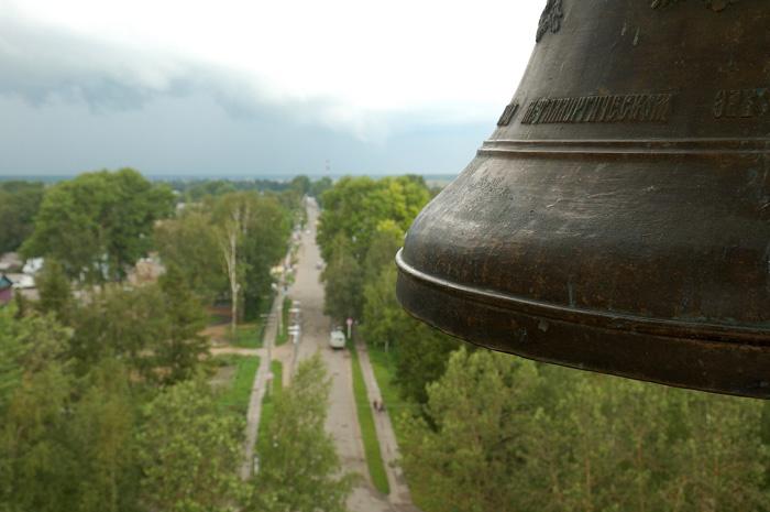 Каргополь. На Соборной колокольне