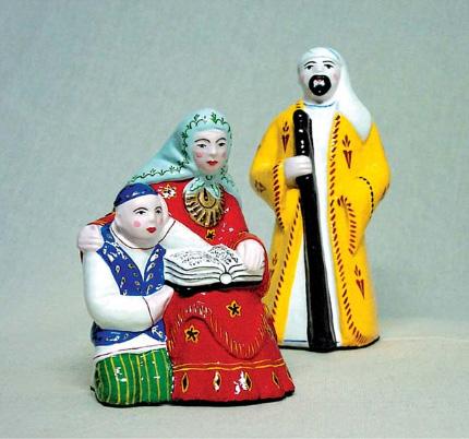 Актюбинская глиняная игрушка