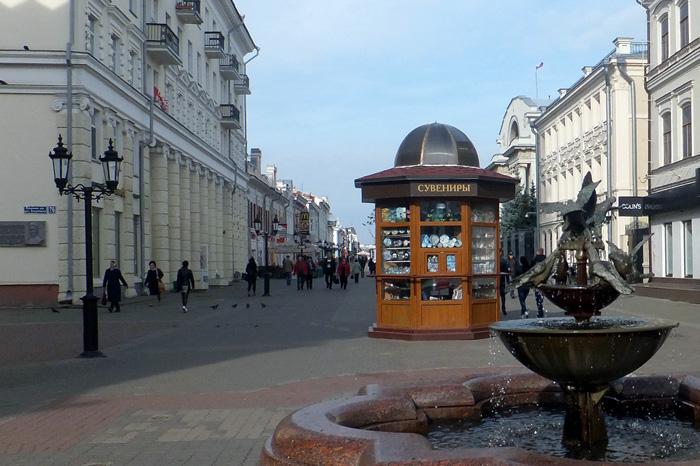 Казань. Улица Баумана