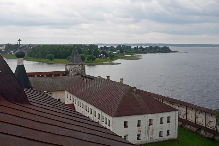 Кирилло-Белозерский монастырь. Сиверское озеро