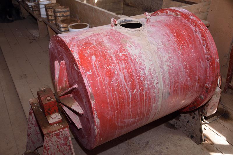 Куракинская керамика. Заготовка глины