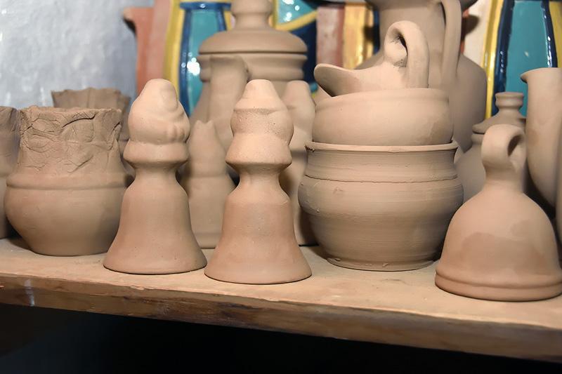 Колокольчики. Куракинская керамика