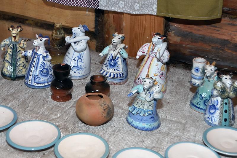 Музей деревенского быта. Керамика