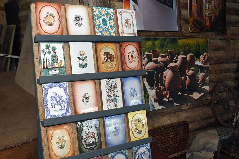 Музей деревенского быта. Изразцы