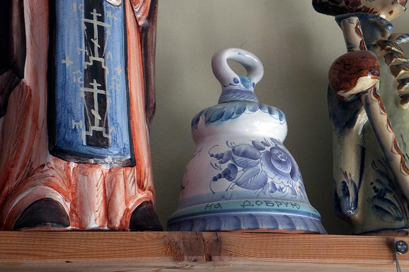 Колокольчик. Куракинская керамика