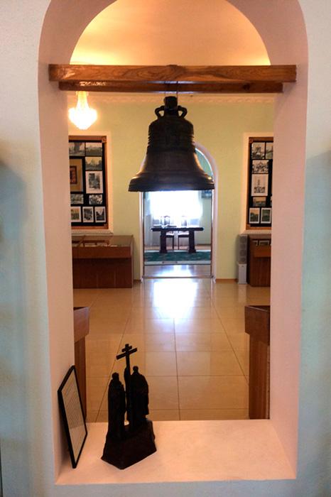 Экспозиция, посвященная колоколам обители