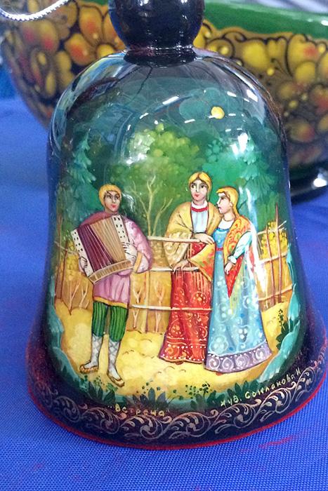 Курская миниатюрная роспись